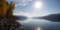 Waterton lake panorama 1